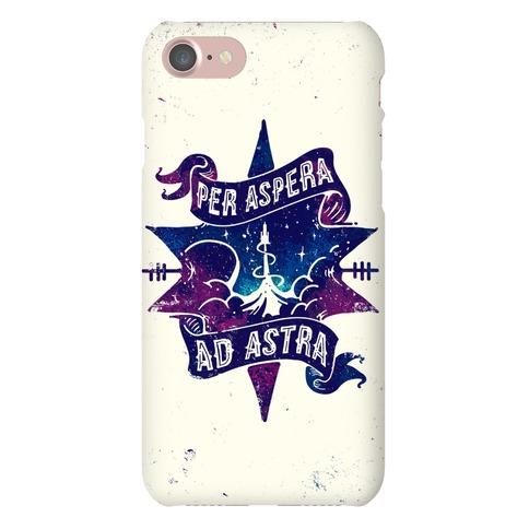 Per Aspera Ad Astra Phone Case