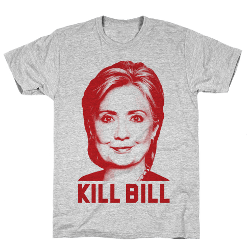 Kill Bill Hillary Mens T-Shirt