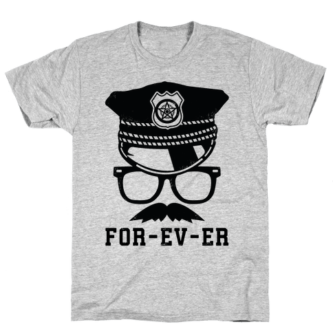 For-ev-er Mens T-Shirt