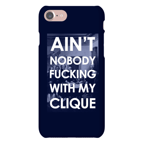 Ain't Nobody F***in Wit My Clique (Founding Fathers) Phone Case