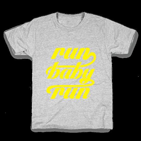 Run Baby Run Kids T-Shirt