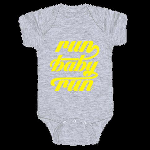 Run Baby Run Baby Onesy