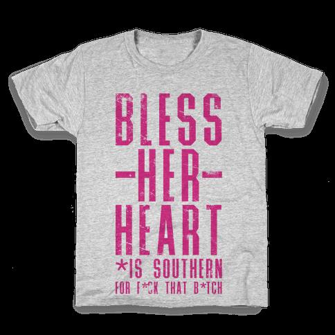 Bless Her Heart Kids T-Shirt
