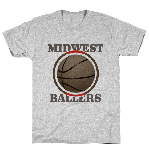 Midwest Ballers Mens T-Shirt