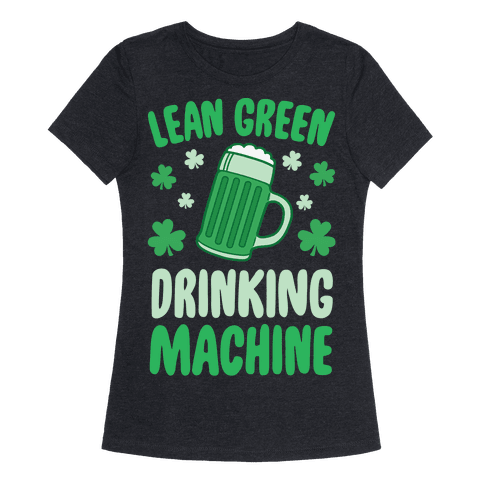 Lean Green Drinking Machine
