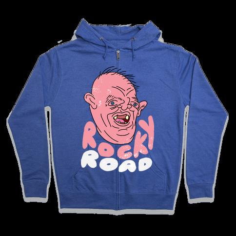 SLOTH - ROCKY ROAD (GOONIES) VINTAGE Zip Hoodie