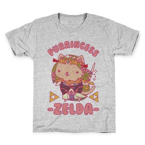 Purrincess Zelda Kids T-Shirt