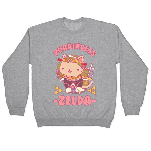 Purrincess Zelda Pullover
