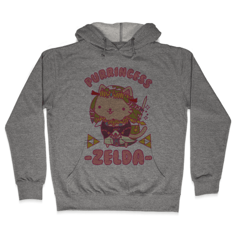 Purrincess Zelda Hooded Sweatshirt