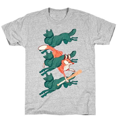 The Boy Who Runs With Wolves T-Shirt