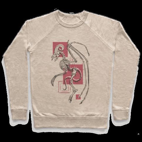 Jersey Devil Skeleton Pullover
