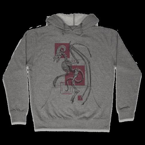 Jersey Devil Skeleton Hooded Sweatshirt