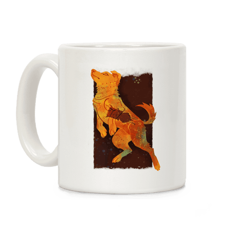 Astronaut Dog Zvezdochka Coffee Mug