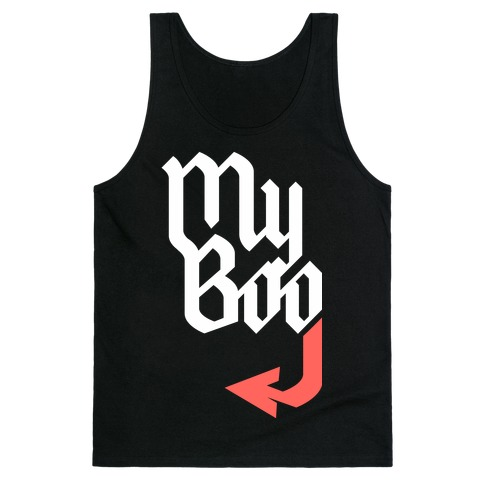 My Boo (Black Red) Tank Top