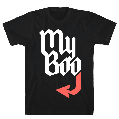My Boo (Black Red) Mens T-Shirt