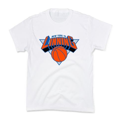 New York is Linning Kids T-Shirt