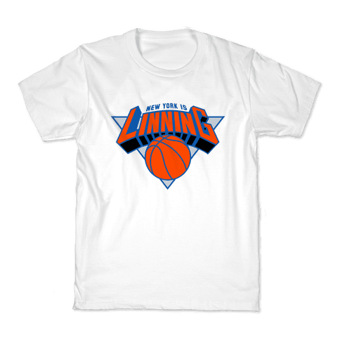 New York is Linning Kids T-Shirt
