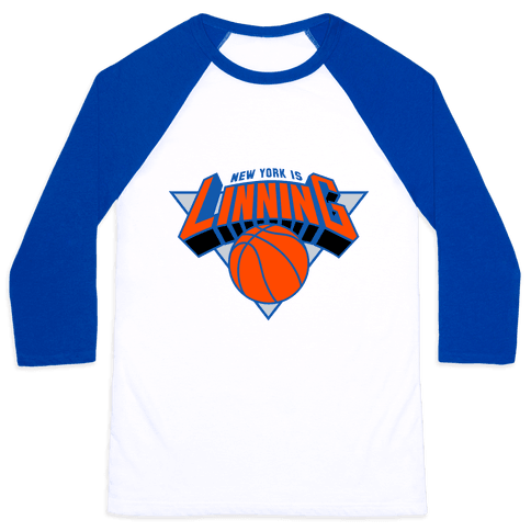 New York is Linning Baseball Tee