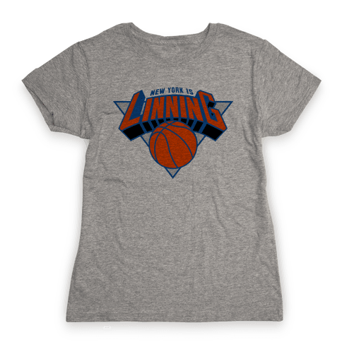 New York is Linning Womens T-Shirt