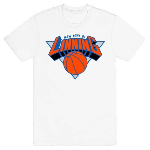 New York is Linning Mens T-Shirt