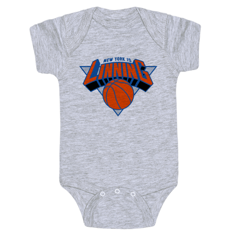 New York is Linning Baby Onesy
