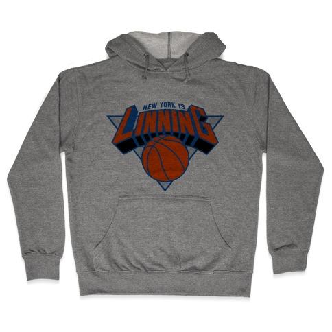 New York is Linning Hooded Sweatshirt