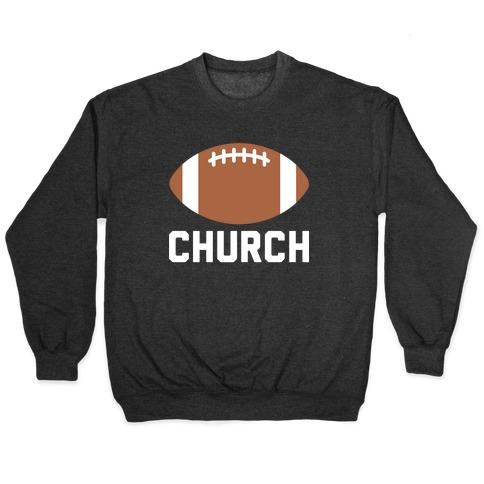 Football Church Pullover