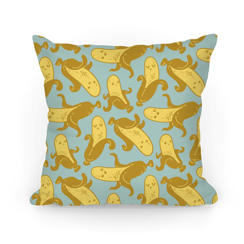 Banana Pattern Pillow