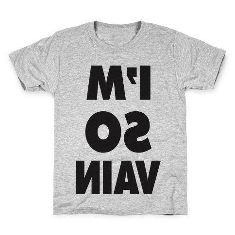 I'm So Vain (Tank) Kids T-Shirt