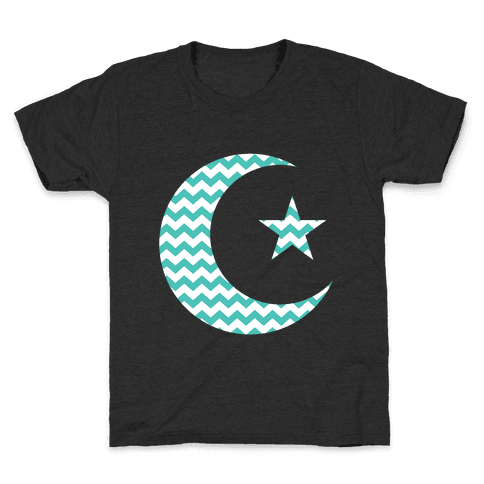 Star And Crescent Kids T-Shirt