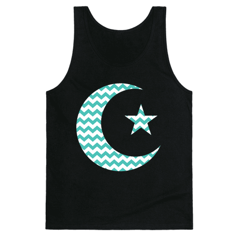 Star And Crescent Tank Top