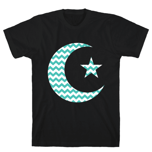 Star And Crescent Mens T-Shirt