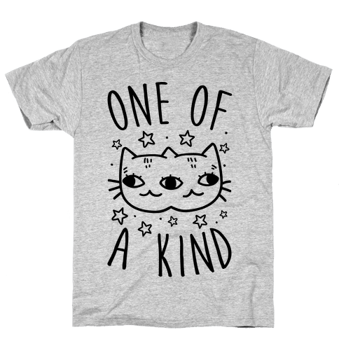 One Of A Kind Cat Mens T-Shirt