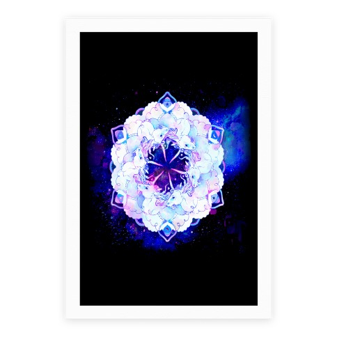 Unicorn Space Ring Poster