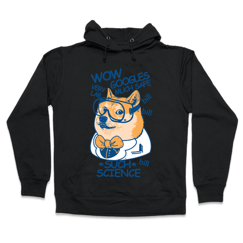 Science Doge Hooded Sweatshirt