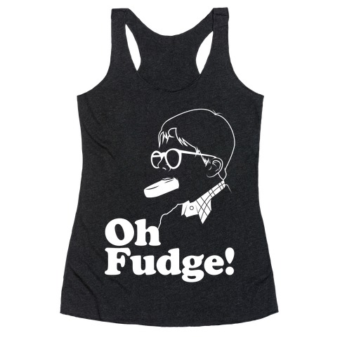 Oh Fudge! Racerback Tank Top