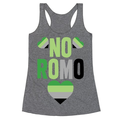 No Romo Racerback Tank Top