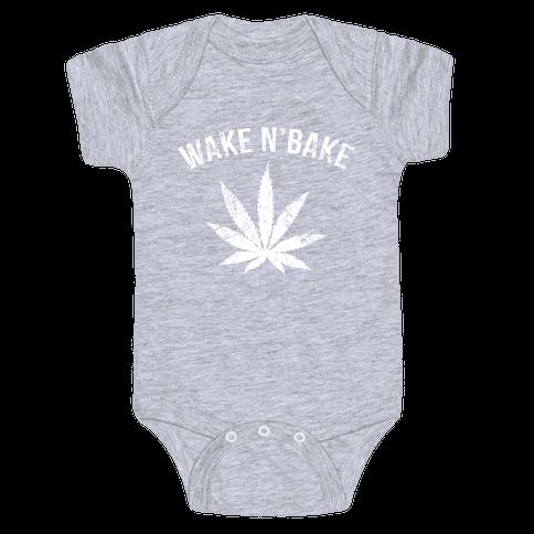 Wake N' Bake Baby Onesy
