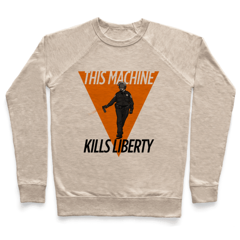 This Machine Kills Liberty Pullover