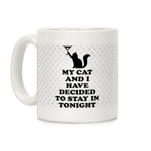My Cat And I Coffee Mug