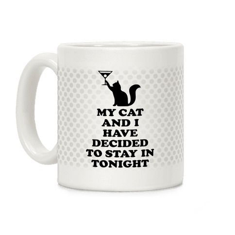 My Cat And I Coffee Mug