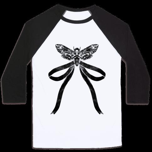 Moth Bow Baseball Tee