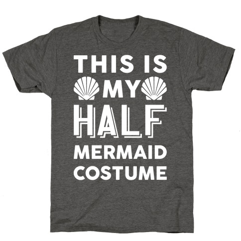 This Is My Half Mermaid Costume T-Shirt