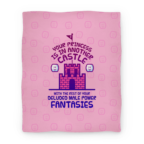 Your Princess Is In Another Castle Blanket