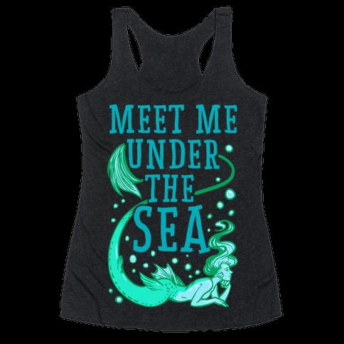 Meet Me Under the Sea Racerback Tank Top