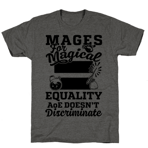 Mages For Magical Equality Mens T-Shirt