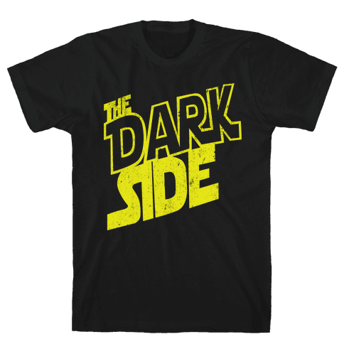 The Dark Side (Vintage) Mens T-Shirt