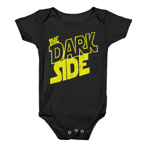 The Dark Side (Vintage) Baby Onesy