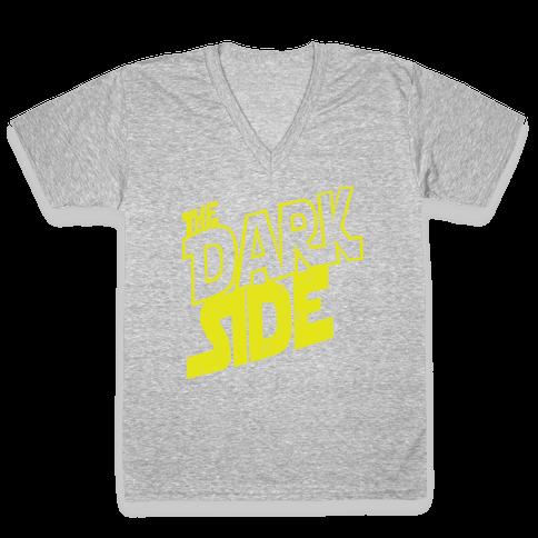 The Dark Side (Vintage) V-Neck Tee Shirt