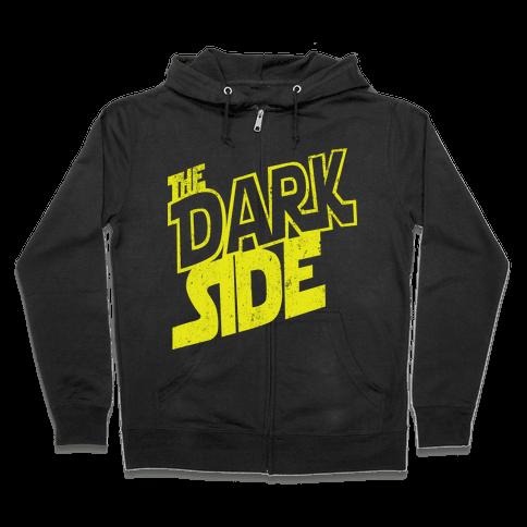 The Dark Side (Vintage) Zip Hoodie